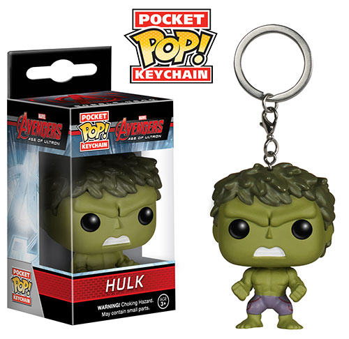 Avengers Age of Ultron Pocket Pop! Keychain Hulk