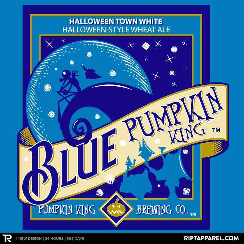 Blue Pumpkin King