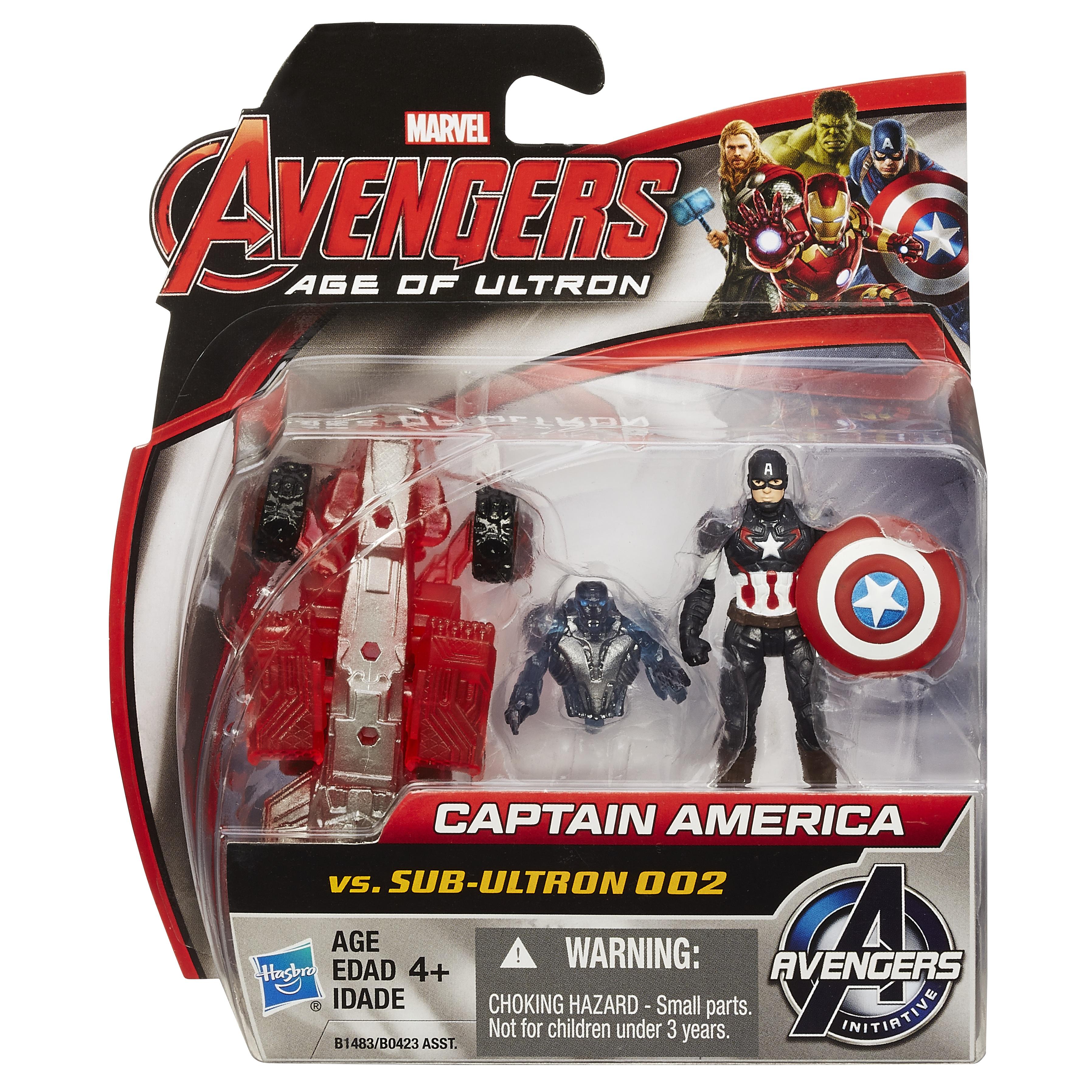 Captain America Avengers 2 Figure Captain America 2-pack Pkg