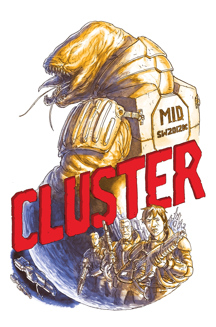 Cluster #1 Chase Cover (1 99) by Simon Roy