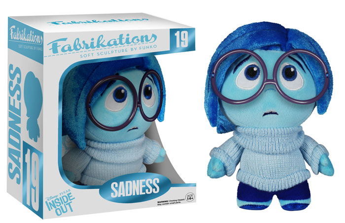 Inside Out Fabrikations Sadness