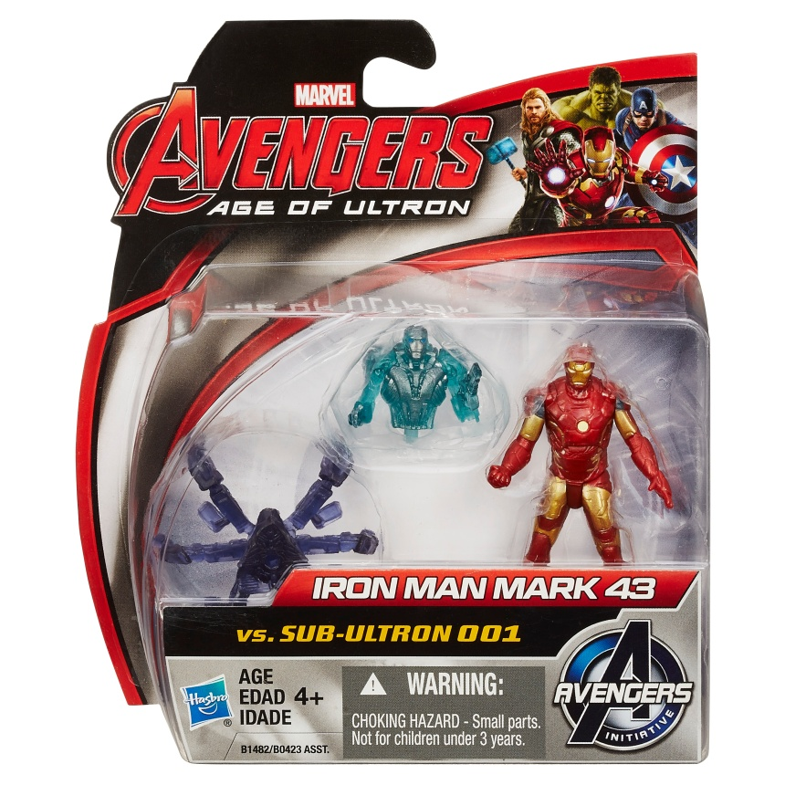Iron Man 2-pack pkg