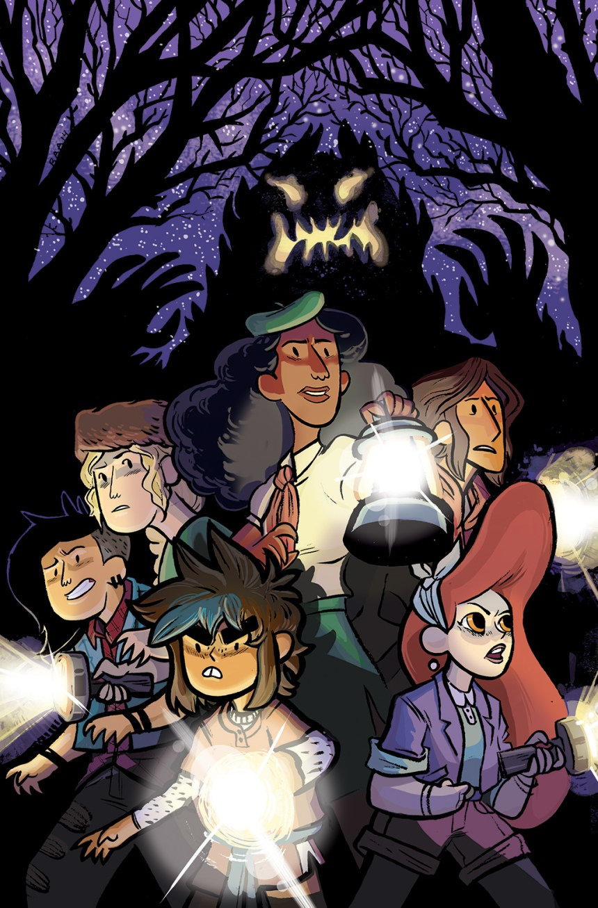 Lumberjanes #9 Second Print Cover by Brooke Allen