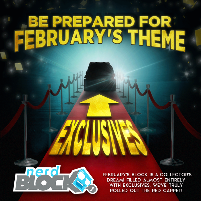 nerd block february exclusives