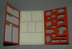 Comic Note Book - Interior