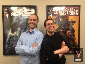 Pictured Valiant Sales Managers Andy Liegl (left) and Matthew Klein (right)