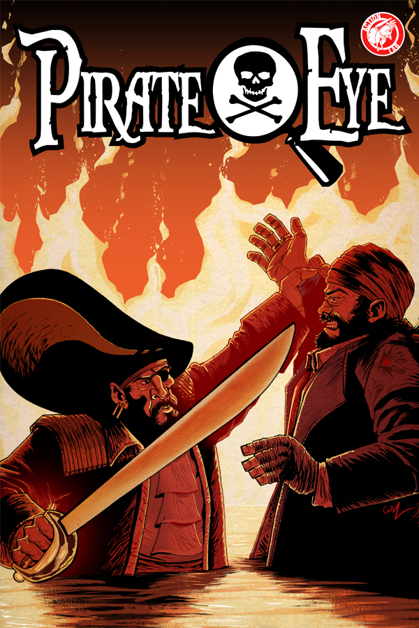 Pirate Eye issue 8 Previews Cover Image