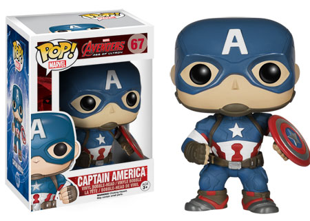 Pop! Marvel Avengers Age of Ultron Captain America