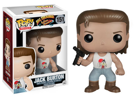 Pop! Movies Big Trouble in Little China Jack Burton