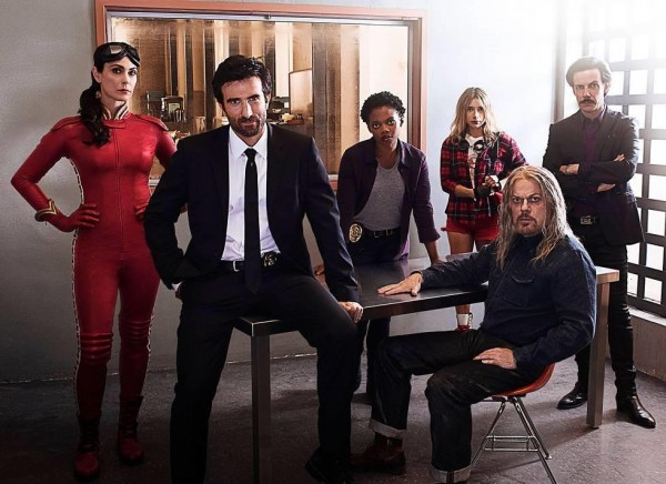 Powers Cast Photo