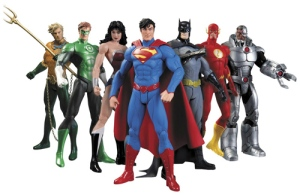 The New 52 Justice League Action Figure 7-Pack Boxed Set