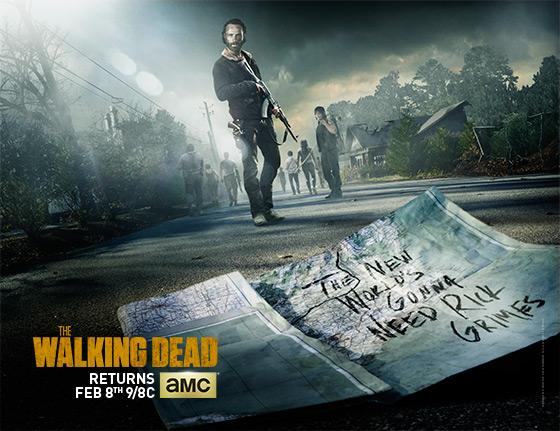 The Walking Dead Season 5 Midseason Premiere Poster