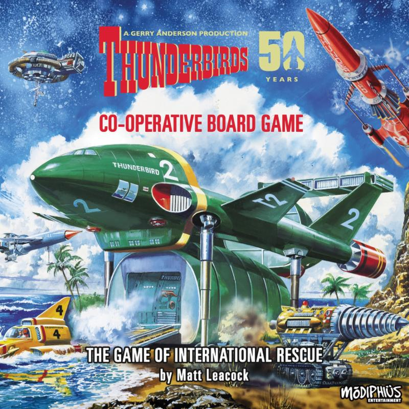 Thunderbirds Boardgame 1