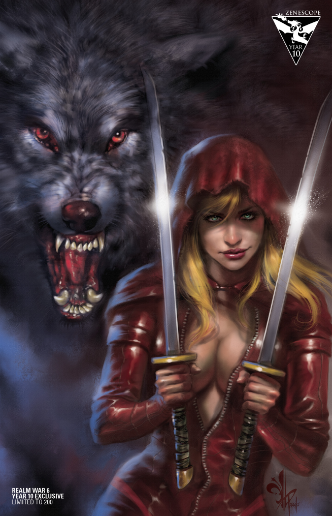 Zenescope Year10 Red Riding Hood  Exclusive Cover Artwork by Lucio Parrillo