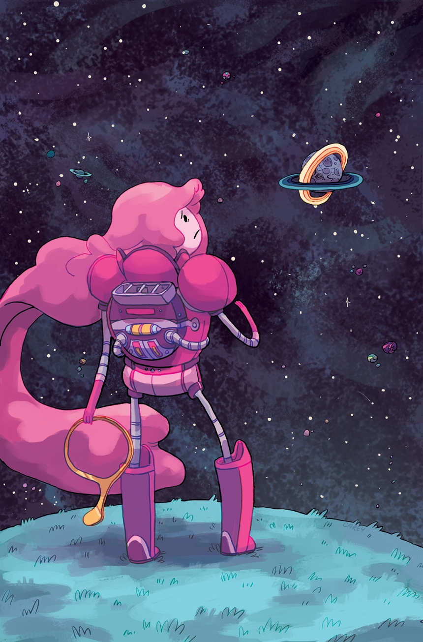 Adventure Time Marceline Gone Adrift #1 2nd Print Cover by Carey Pietsch