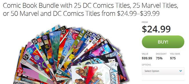 groupon comics featured
