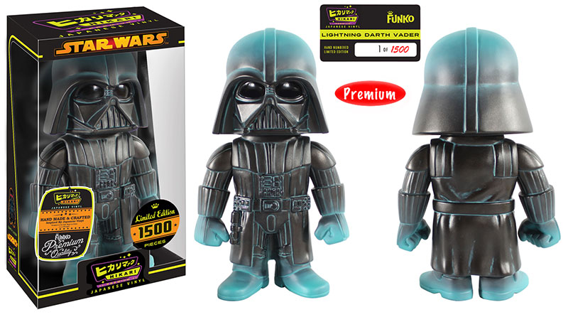 Lightning Darth Vader Hikari Premium Sofubi Figure