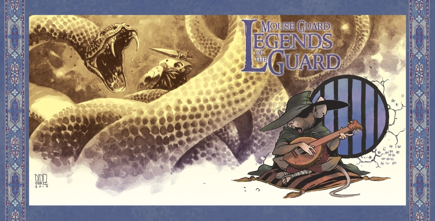 Mouse Guard Legends of the Guard Vol. 3 #1 10 Years Incentive Cover by Ramón K. Pérez