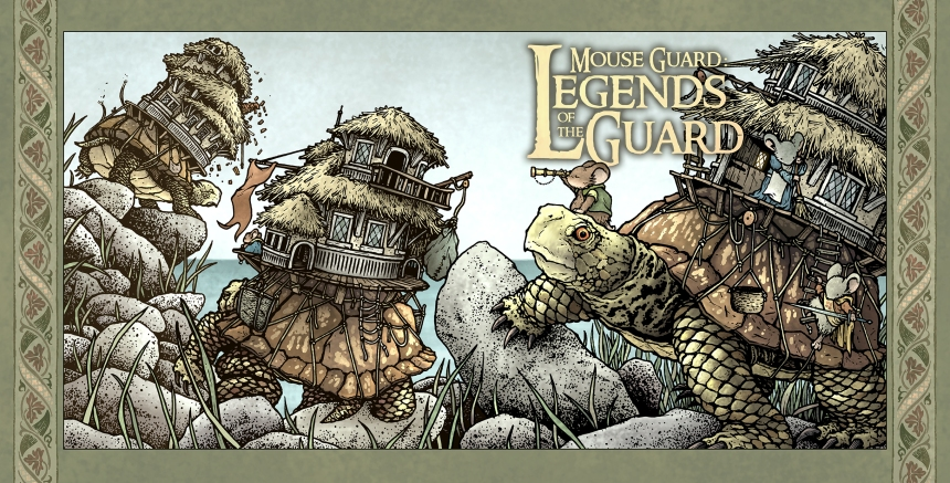 Mouse Guard Legends of the Guard Vol. 3 #1 Main Cover by David Petersen