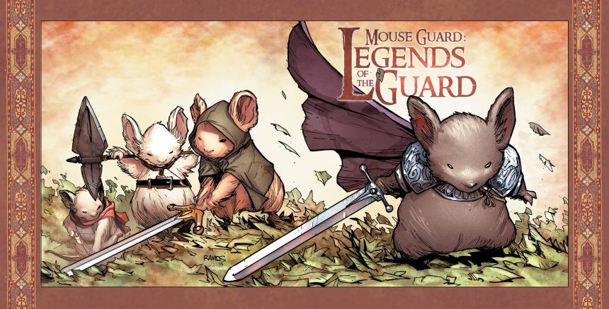 Mouse Guard Legends of the Guard Vol. 3#1 Variant Cover by Humberto Ramos