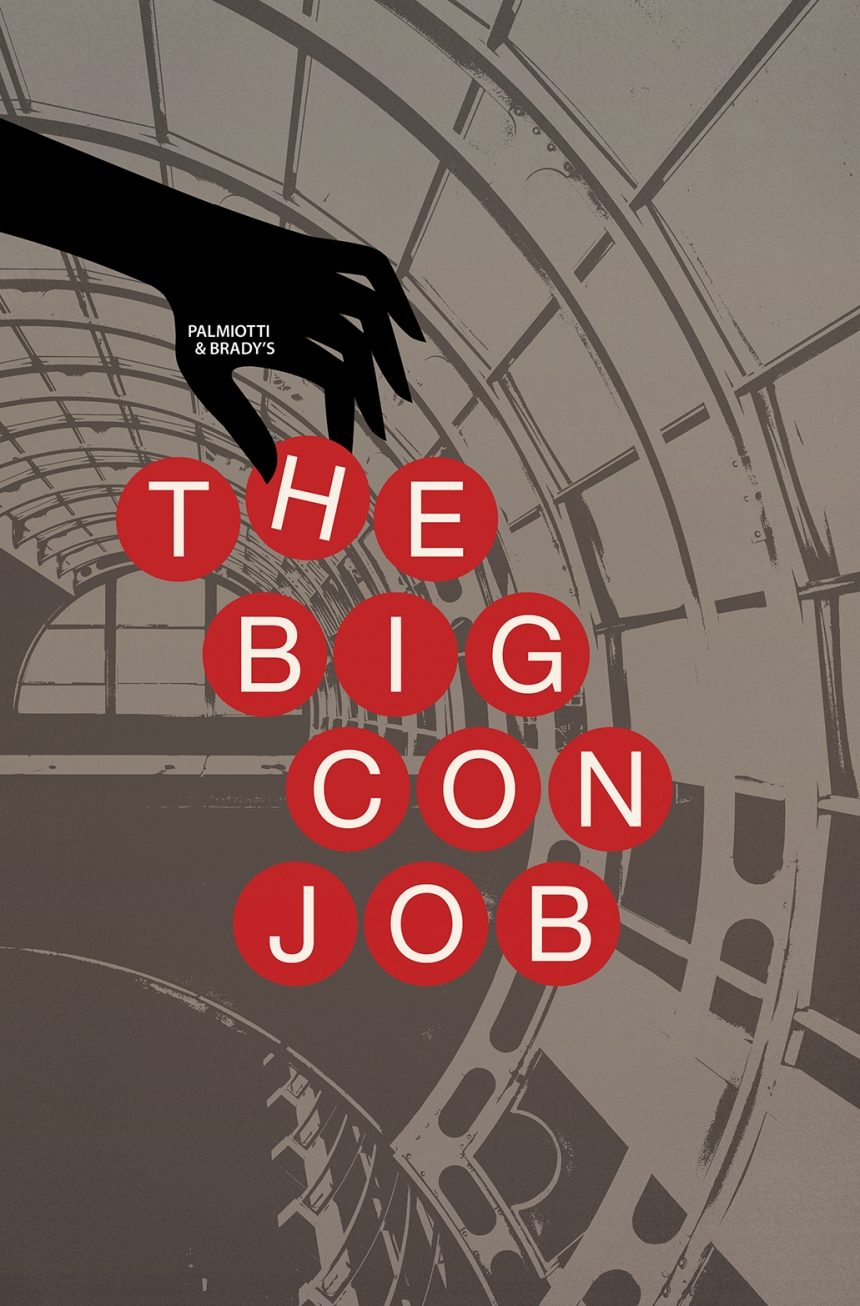 Palmiotti & Brady's The Big Con Job #1 Jackpot Variant Cover