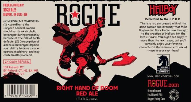 Right Hand of Doom Beer