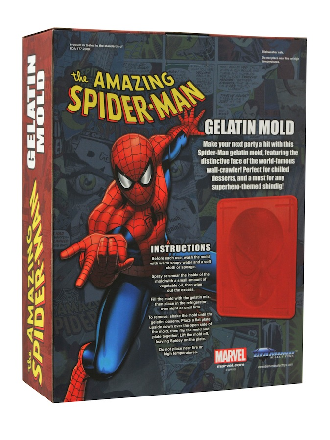 Spider-ManGelatinMoldPkgback