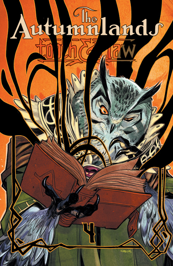The Autumnlands Tooth & Claw Karl Kerschl variant cover