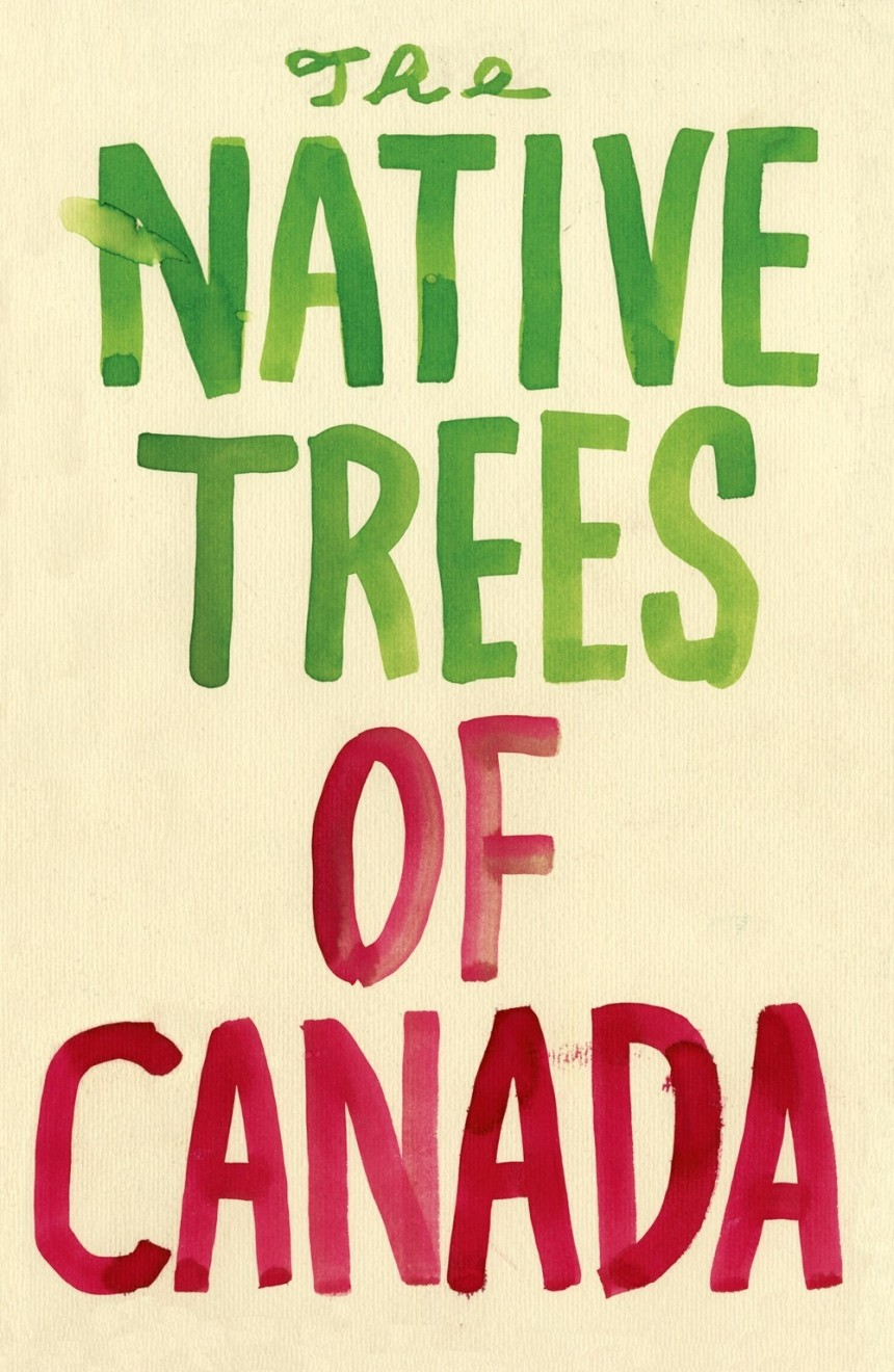 THE NATIVE TREES OF CANADA A POSTCARD SET