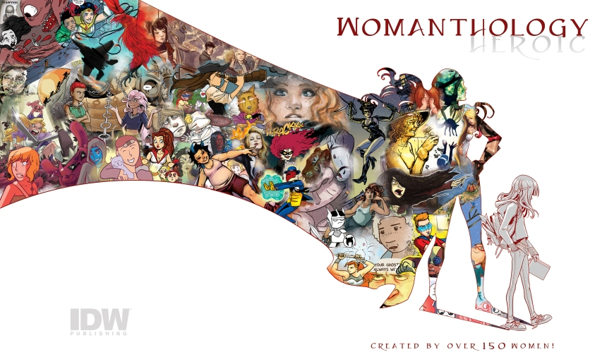 Womanthology-Cover