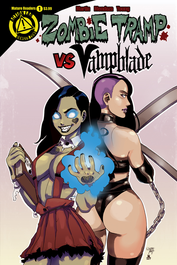 ZombieTrampVS_Vampblade_issue1_cover_standard_solicit