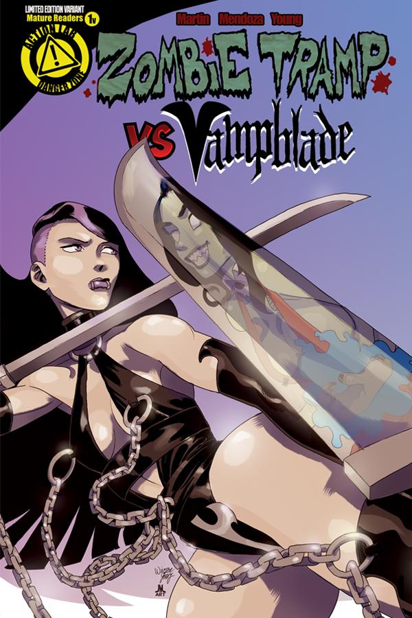 ZombieTrampVS_Vampblade_issue1_cover_Vamp_variant_solicit