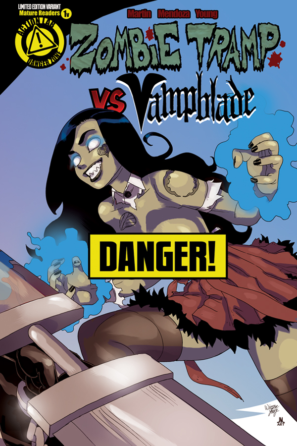 ZombieTrampVS_Vampblade_issue1_cover_ZT_risque_solicit