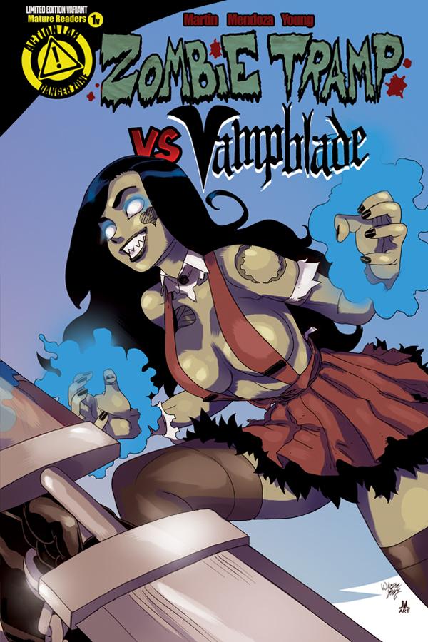 ZombieTrampVS_Vampblade_issue1_cover_ZT_variant_solicit
