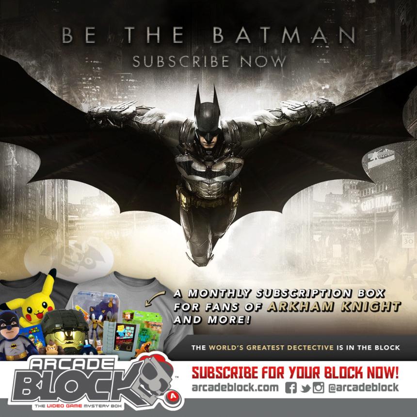 Batman Arcade Block