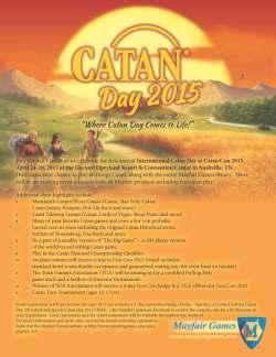 CatanCon 2015 Poster