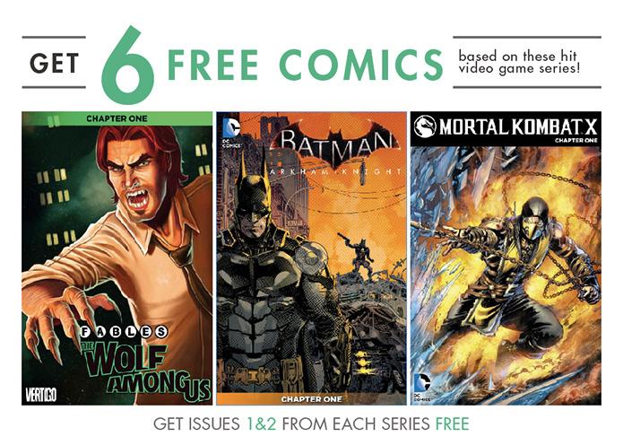 comixology sxsw 2015 free comics