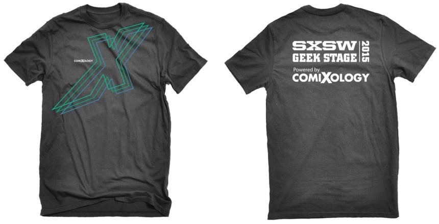 comixology sxsw 2015 tshirt