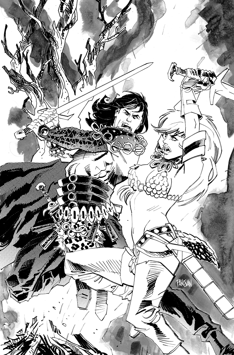 Conan Red Sonja #1 Convention Exclusive