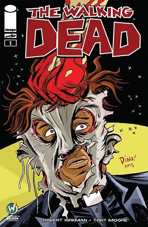 Dean Haspiel Walking Dead #1 Cover
