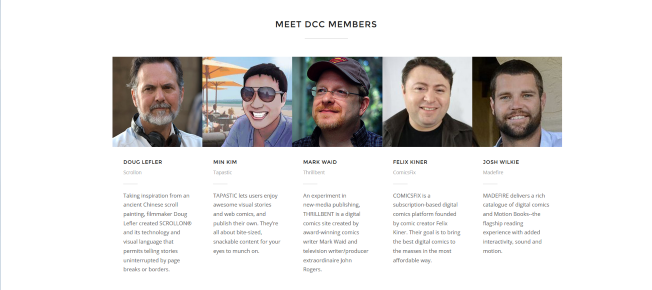 digital comics coalition featured