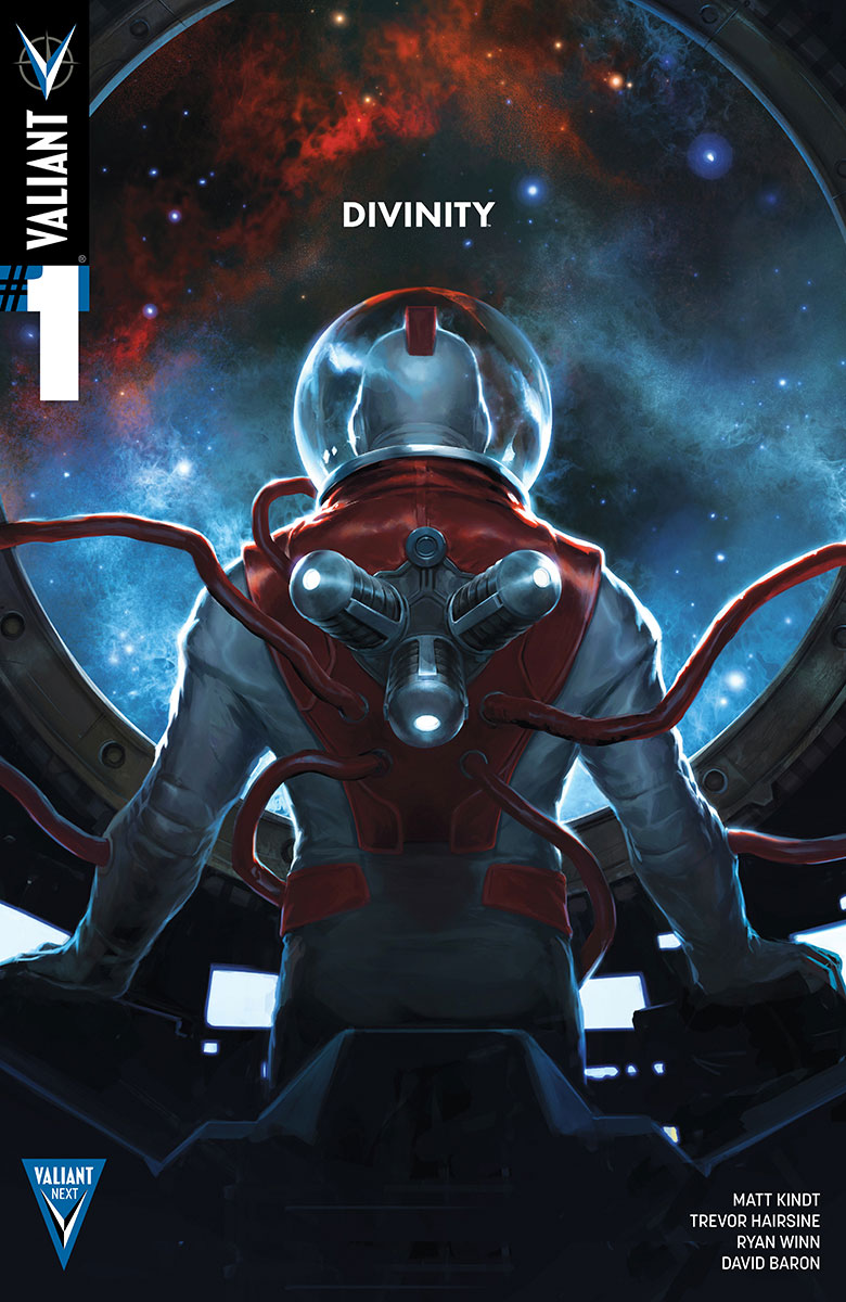 DIVINITY #1 THIRD PRINTING – Cover by Jelena Kevic-Djurdjevic