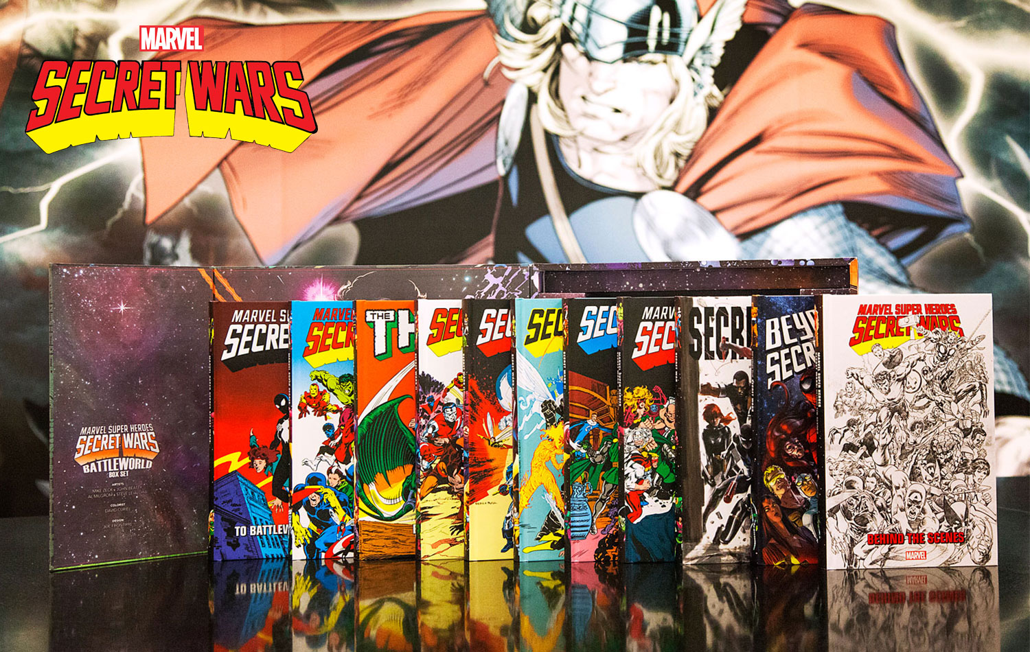 Relive the Legacy of Marvel Super Heroes Secret Wars in One Epic Box Set!