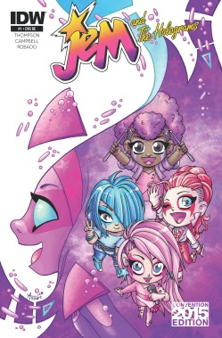 Jem and the Holograms ECCC Variant