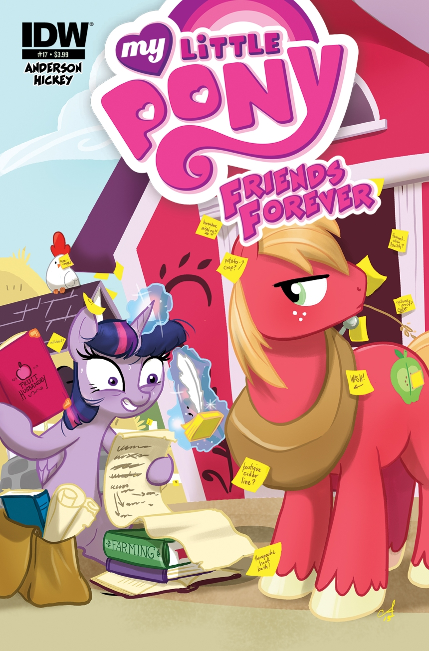 MyLittlePonyFF17-cover