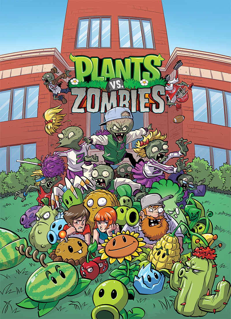 Plants Vs. Zombies Now Monthly From Dark Horse