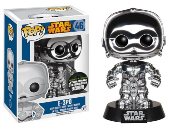 Pop! Star Wars 2015 Celebration Exclusives E 3PO