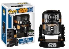 Pop! Star Wars 2015 Celebration Exclusives R2Q5