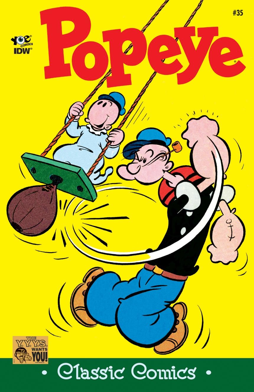 Popeye_Classic_35 Cover
