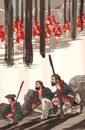 Rebels #1 cover